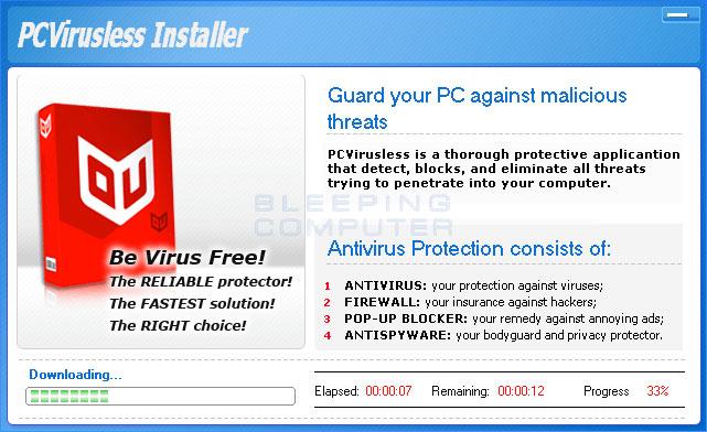 Installer for PCVirusless