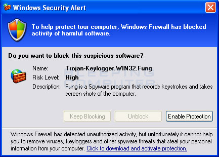 Fake Windows Security Alert