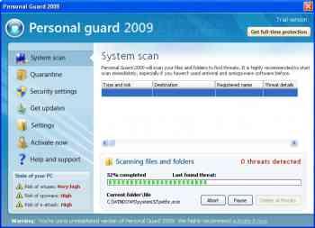 Personal Guard 2009 Image