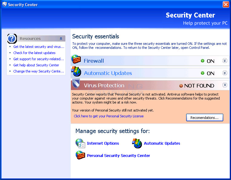 Remove Personal Security (Uninstall Guide)