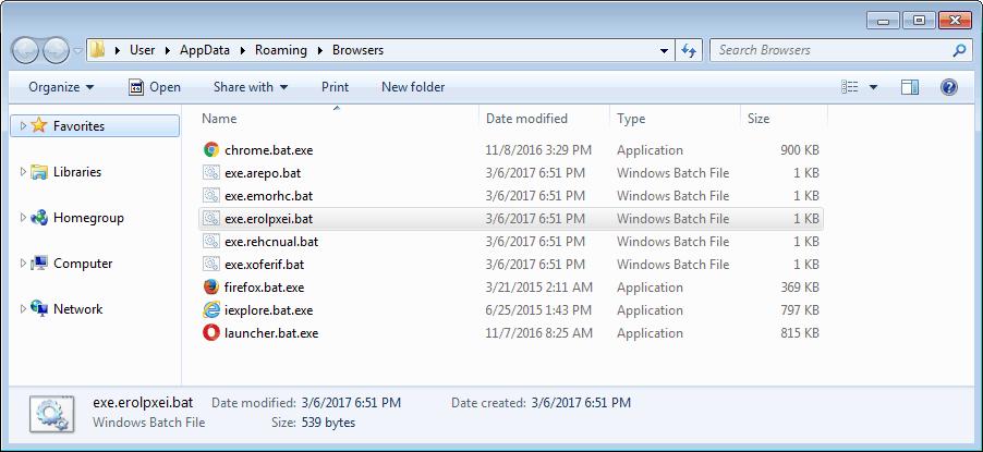 Brower Folder