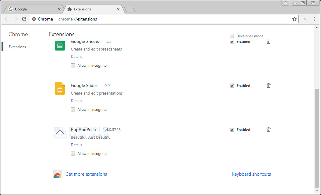 chrome how to get rid of auto search complete