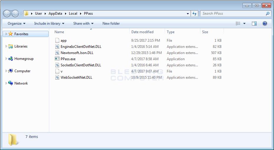 PPass Folder