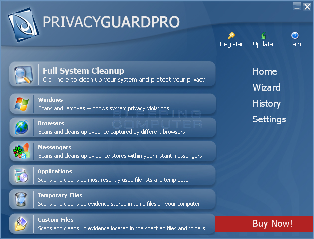 PrivacyGuardPro screen shot