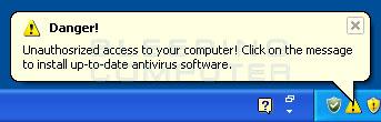 Unauthorized Access Warning