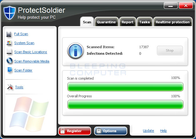 ProtectSoldier screen shot