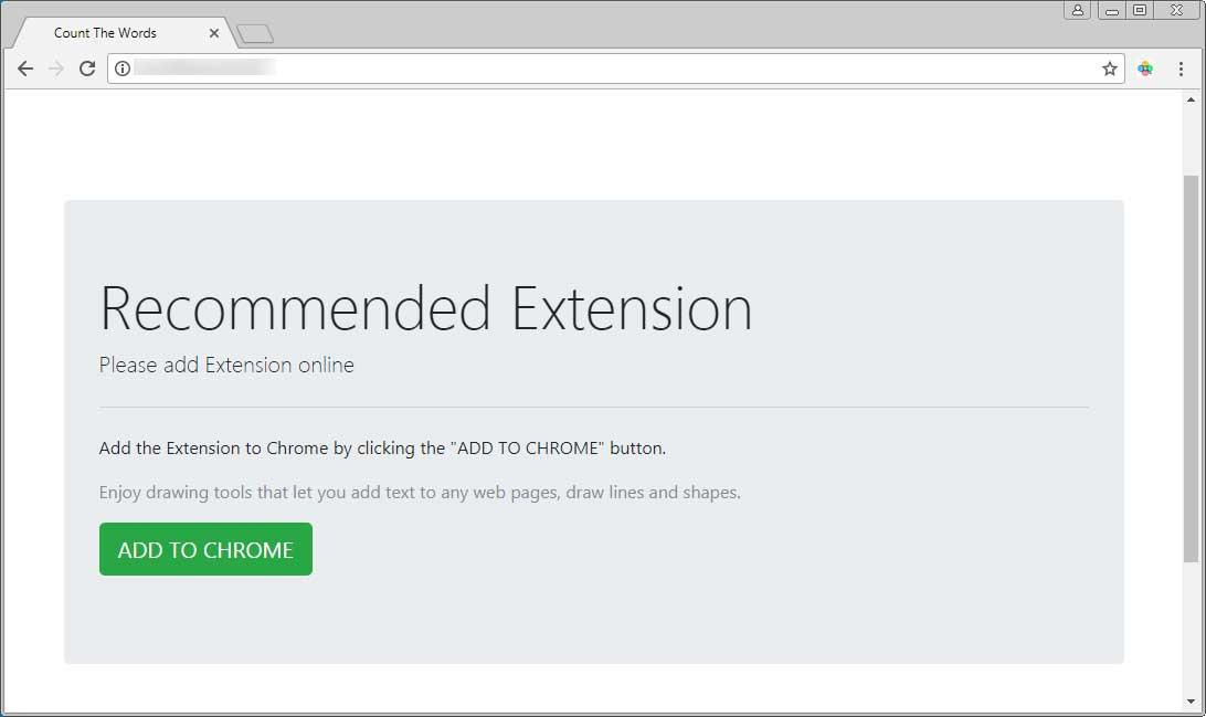 Recommended Extension Advertisement