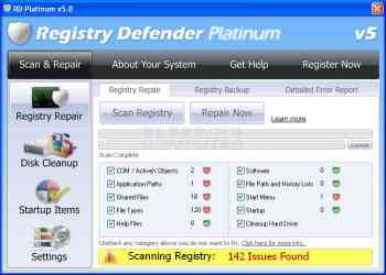 Registry Defender Platinum Image