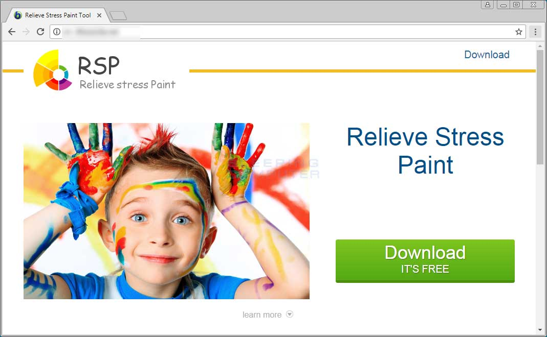 Remove the Relieve Stress Paint Trojan