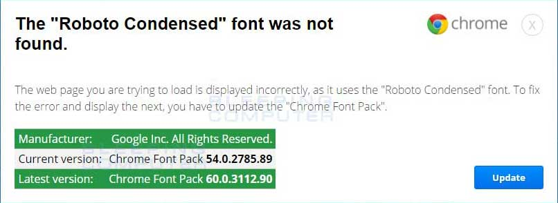 """Download Beware of The Fake """"Roboto Condensed"""" font was not found ..."""