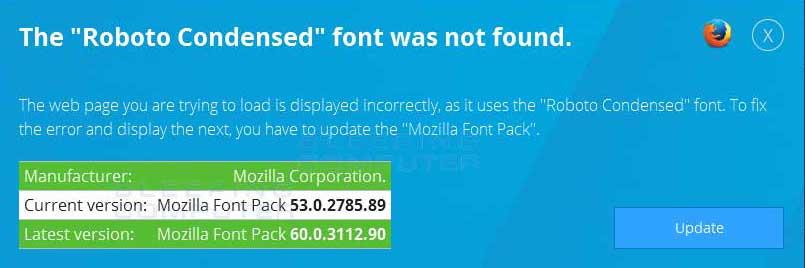 Mozilla Alert
