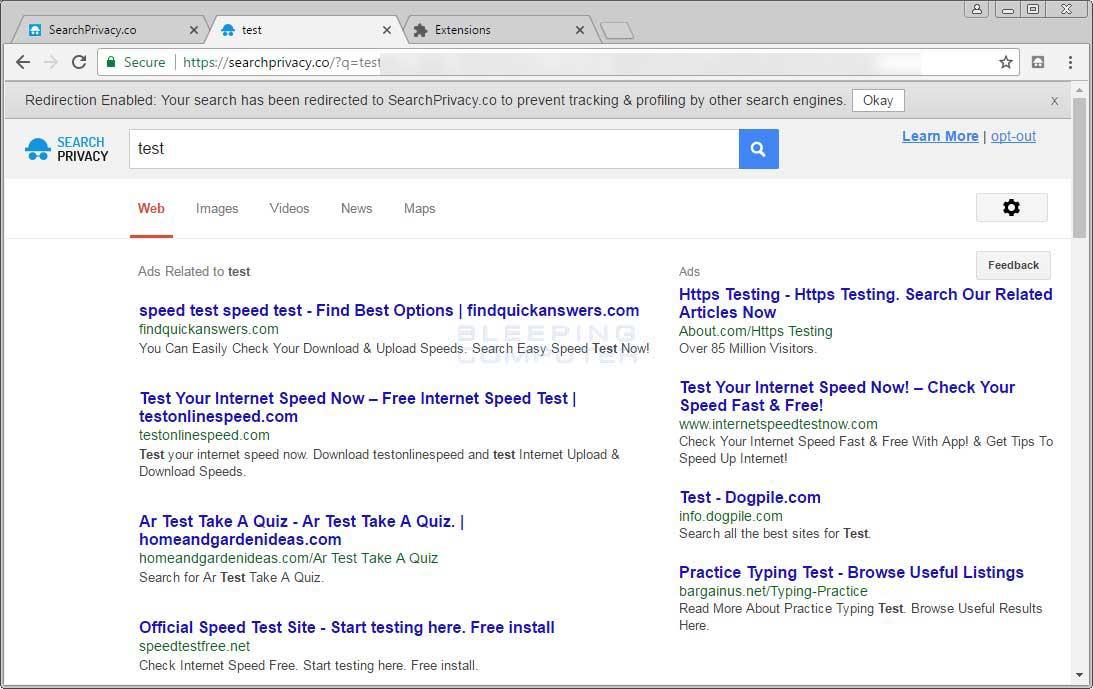 Searchprivacy.co Search Results