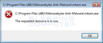 Malwarebytes Blocked