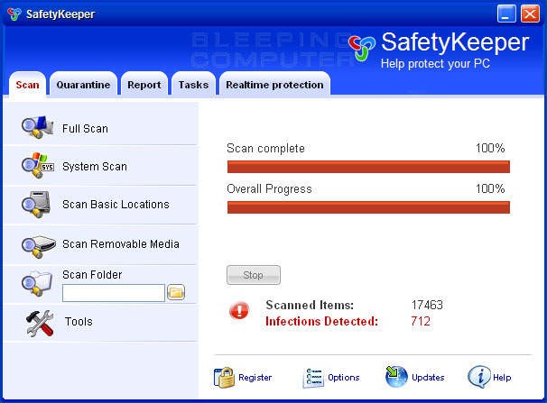 SafetyKeeper screen shot