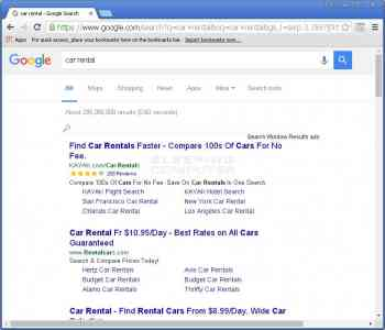 Search Window Results Image