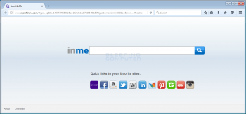 Remove the Searchinme.com Browser Hijacker Image