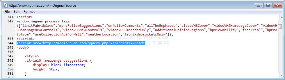 Javascript Injection
