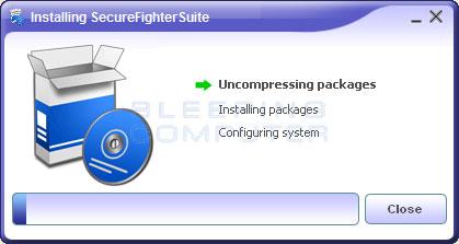 SecureFighter installer