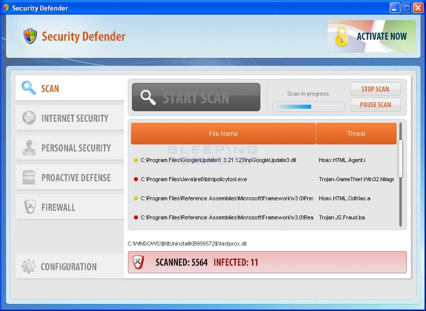 Security Defender Removal Guide