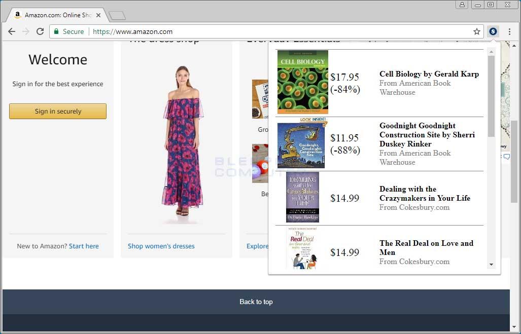 Shoppr Chrome Extension