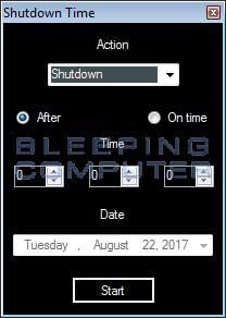 Remove the Shutdown Time or ShutdownTime Adware