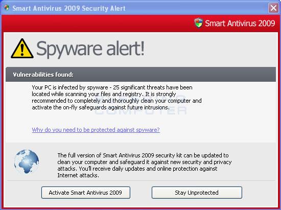 Fake security alert #3