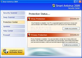 Smart Antivirus 2009 Image