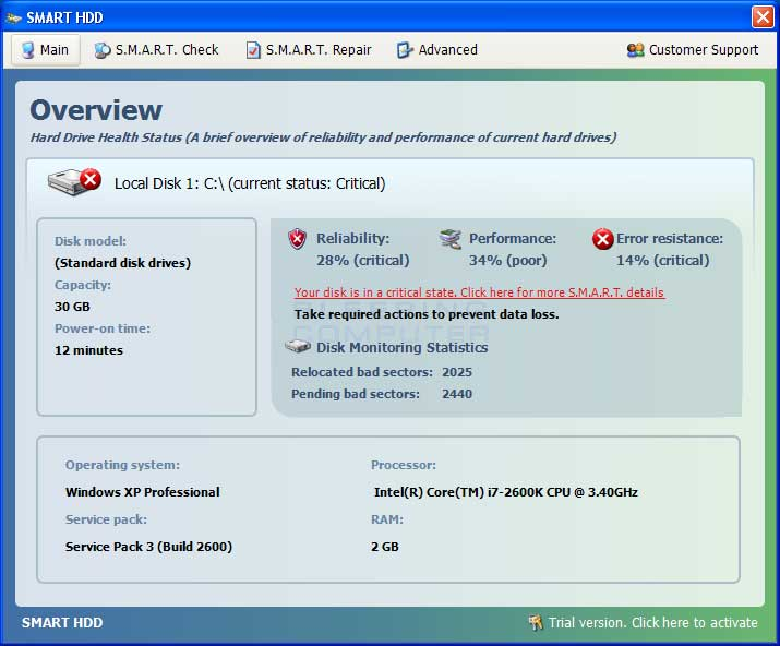 Remove Smart HDD (Uninstall Guide)