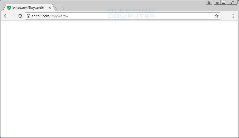 Snitou.com Search Redirect