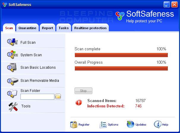 SoftSafeness screen shot