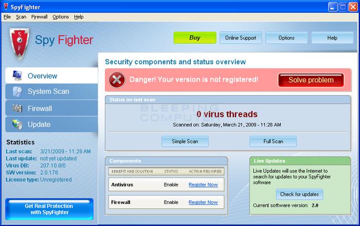 SpyFighter screen shot