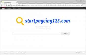 Startpageing123.com Screenshot