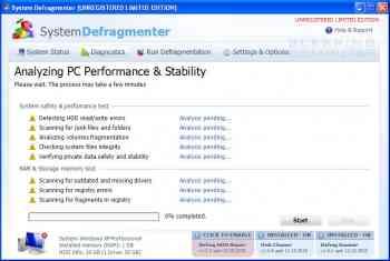 System Defragmenter Image