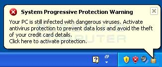 Fake Security Warning