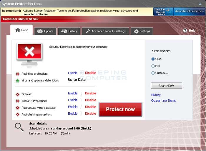 desktopok virus system desktop tools