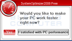 Nag screen to purchase SystemOptimizer2008