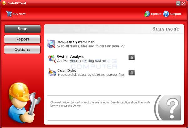 SafePCTool Screenshot