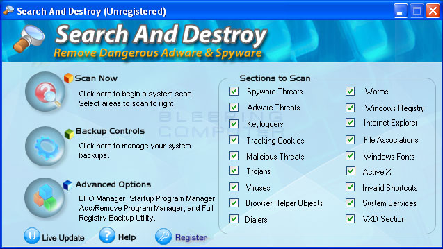 Search And Destroy Screenshot