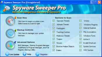 Spyware Sweeper Pro Image