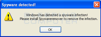 Examples of False Positives found in SpywareRemover