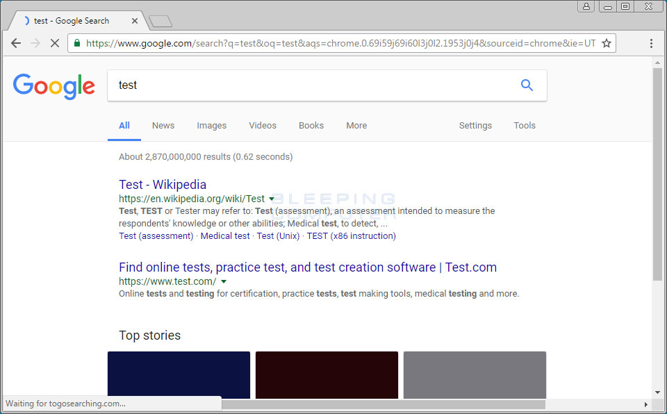 Togosearching.com Search Redirect