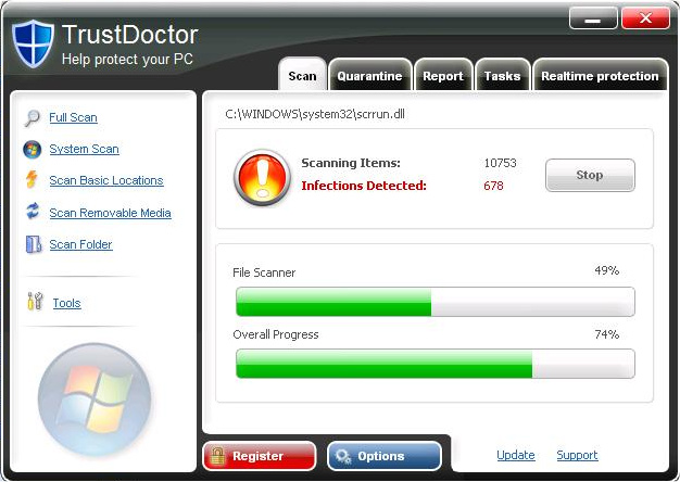 TrustDoctor screen shot