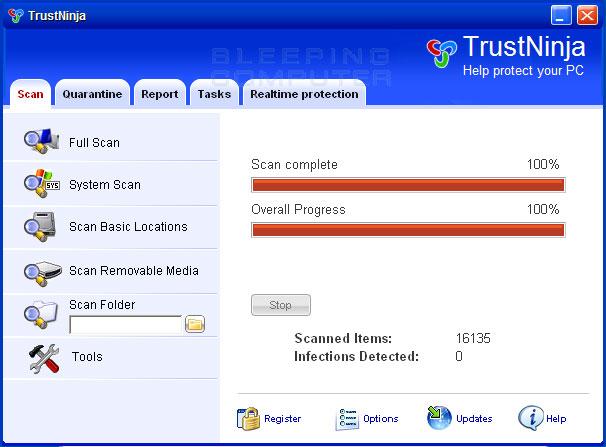 TrustNinja screen shot