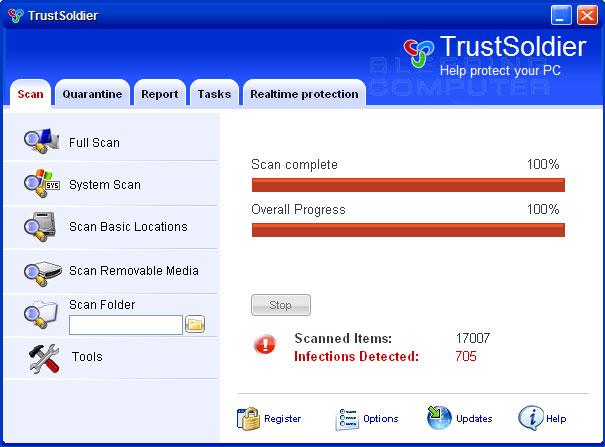 TrustSoldier screen shot
