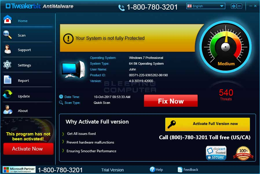 Tweakerbit Antimalware