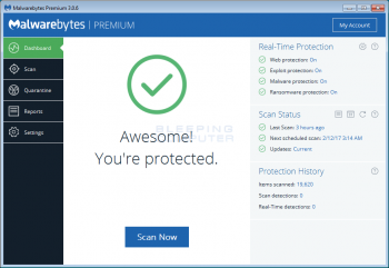 How to use Malwarebytes Anti-Malware to scan and remove malware from your computer Image