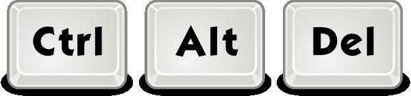 Ctrl+Alt+Delete