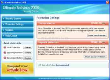 Ultimate Antivirus 2008 Image