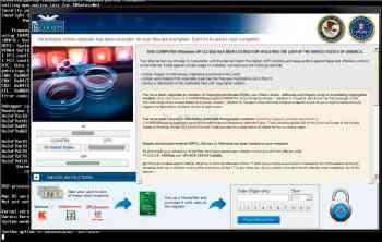 United States Courts Ransomware Screenshot